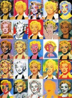 """ACTRICE  /   M.M 9   / MARYLIN  MONROE  ANDY WARHOL  """"  ED ART AMSTERDAM    N° A 3582    CPM / CPSM    10 X 15 NEUVE - Warhol, Andy"""