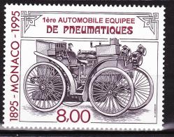 Monaco - 1995 - Auto équipée Pneumatiques  - N° 1999   - Neuf **/MNH - Ungebraucht