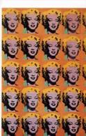 "ACTRICE  /   M.M 9   / MARYLIN  MONROE  ANDY WARHOL  ""  ED HAZAN    N° 1643  CPM / CPSM    10 X 15 NEUVE - Warhol, Andy"
