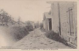 CPA:Hauviné:Rue De La Marguerite - France