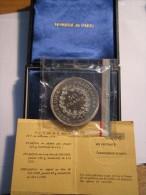 ---1--PIECE--50 FRANCS-HERCULE-ARGENT--1974--PIEDFORT--FDC--NUMERO--406----monnaie De Paris- - France