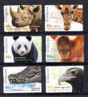 Australia - 2012 - Australian Zoos (Self Adhesive) - Used - 2010-... Elizabeth II