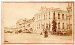 NICE (F) Promenade Des ANGLAIS Année 1880 *Les Hôtels Photo DEGAND 11cm X 7 Cm VINTAGE Cartonnée - Photos