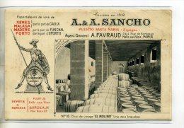 ESPAGNE EL PUERTO DE SANTA MARIA Vins Fins A-A SANCHO  D'espagne Et Portugal  Num 16 Chai Vinage EL MOLINO  /D05-2016 - Unclassified