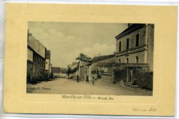 21 MARCILLY Sur TILLE Carte RARE Grande Rue Village Anim Edit E Tartari Belle Aspect Artistique   /D05-2016 - France