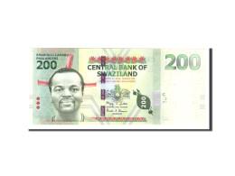 Swaziland, 200 Emalangeni, 2010, KM:40a, 2010-09-06, NEUF - Swaziland