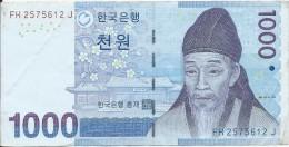 1000 Won 2007 - Korea, North
