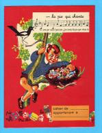 PROTEGE CAHIER : La Pie Qui Chante  Melange De Sucre Ordinaire - Protège-cahiers