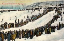 Canadian Winter Sports Ski-ing Skiing (animation, 1911) - Non Classés
