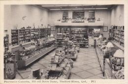 Pharmacie Caouette, Thetford Mines, Québec - Non Classés