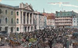 Québec - Champlain Market (top Animation, 1913) - Non Classés