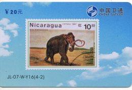 éléphant Elephant Animal   Timbre Stamp  Télécarte  Phonecard  Karte  B 505 - Timbres & Monnaies