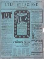 Illustraz. Italiana 52 1903 - Milano,Pifferai Di Bergamo - Leone Tolstoj - Umberto Giordano - Ante 1900