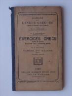 GRAMMAIRE De La LANGUE GRECQUE: Livre Scolaire Ancien 6e Edition - Exercices Grecs - BELIN - Livres, BD, Revues