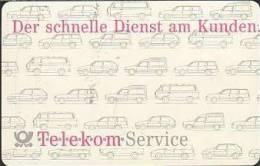 GERMANY A23/91 Telekom - Service - 1. Edition 1109 Gr. Nr. - Germany