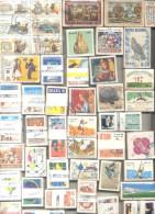 BRÉSIL COLLECTION De 500 TIMBRES DIFFERENT COMMÉMORATIFS, CONMEMORATIVOS BRAZIL BRASIL DIFERENTES NEUFS ET OBLITERES - Postzegels