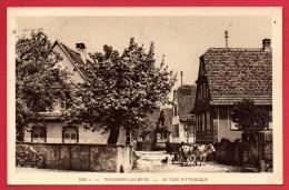 67. Morsbronn Les Bains. Un Coin Pittoresque. Charrue, Boeufs.1933 - Autres Communes