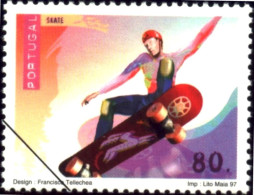 SPORTS-SKATEBOARD-SPECIMEN-PORTUGAL-1997-MNH-B9-14 - Skateboard