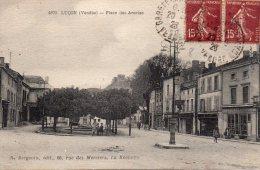 Luçon : Place Des Acacias - Lucon