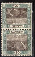 Sarre 57 D  ** Paire Tete Beche Rare - 1920-35 League Of Nations