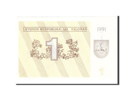 Lithuania, 1 (Talonas), 1991, KM:32a, Undated, SPL - Lituanie