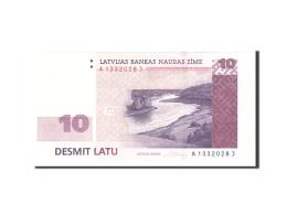 Latvia, 10 Latu, 2008, KM:54, Undated, NEUF - Lettonie