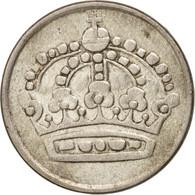 Suède, Gustaf VI, 25 Öre, 1953, TTB, Argent, KM:824 - Suède