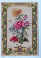 9395 Chromo /   Image - H & Cie - N°17 Chrysanthèmes  ACHAT DIRECT !!! - Old Paper