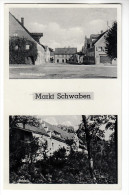 AK Markt Schwaben, Mit Schloss Und Hindenburgbau, 1944 - Lindau A. Bodensee