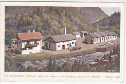 AK Österreichische AGA-Werke, Werk Innsbruck, 1944 - Innsbruck