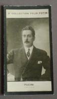 Giacomo Puccini - Felix Potin - Personalità