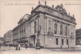 Cp , 59 , LILLE , Le Théâtre , Boulevard Carnot - Lille
