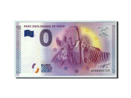 France, Billet Touristique - 0 Euro, 75/ Paris - Parc Zoologique, 2015, NEUF - Francia