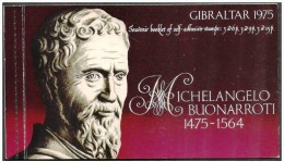 Gibilterra/Gibraltar: Libretto, Booklet, Carnet, Scultura Di Michelangelo, Michelangelo's Sculpture, Sculpture De Michel - Scultura