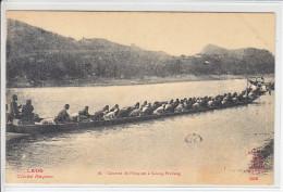 LAOS - COURSES DE PIROGUES ALUANG-PRABANG - 9.06.1911 - Laos