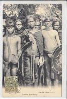 LAOS - GUERRIERS KHAS-KASENG - 4.03.1907 - CACHET DE SAIGON - TTB - - Laos