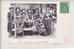 LAOS -FEMMES KHAS DE LA REGION DE MUONG-NGOI - DOS UNIQUE - 20.03.1909 - Laos