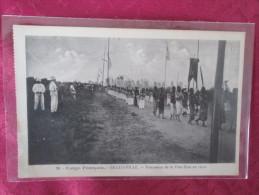 BRAZZAVILLE . PROCESSION DE LA FETE DIEU EN 1912 - Brazzaville
