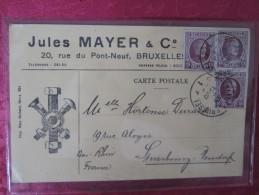 JULES MAYER . 20 RUE DU PONT NEUF . BRUXELLES . FABRICANT DE BOULONS ET VIS - Altri