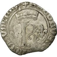 Monnaie, France, Karolus Or Dizain, Undated, Saint Lô, TB, Billon, Duplessy:593 - 987-1789 Monnaies Royales