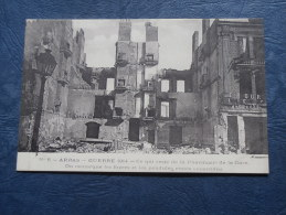 Guerre 1914  Arras  Ce Qui Reste De La Pharmacie De La Gare - Ed. Ledieu 6 - L246 - Arras