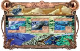 GUINEA 2013 - Prehistoric Whale Ambulocetus Natans - YT 6793-5; CV = 25 € - Prehistorisch