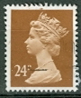 Grossbritannien 24 P. + 25 P. + 26 P. + 30 P. Gest. Königin Elisabeth II. - 1952-.... (Elisabeth II.)