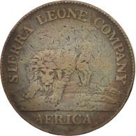 Sierra Leone, Cent, 1791, TB, Bronze, KM:1 - Sierra Leone