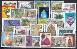 Österreich Jahrgang 2001 ** Komplett (Mi. 68.- €) - Collections