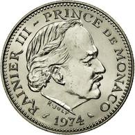 Monnaie, Monaco, Rainier III, 5 Francs, 1974, SPL+, Copper-nickel, KM:150 - 1960-2001 Nouveaux Francs