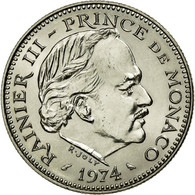 Monnaie, Monaco, Rainier III, 5 Francs, 1974, SPL+, Copper-nickel, KM:150 - Monaco