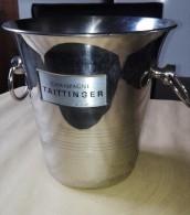 Seau A Champagne De Guy Degrenne - Inox 18-8 Made In France - Champagne Taittinger - Non Classés