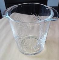Seau A Champagne Verre Ou Cristal - Taillé En épi - Dishware, Glassware, & Cutlery