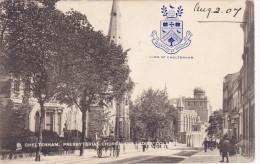 CHELTENHAM , England , 1907 ; Presbyterian Church & Ladies College TUCK - Cheltenham